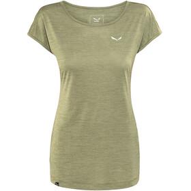 Salewa Puez Melange Dry Kortærmet T-shirt Damer oliven